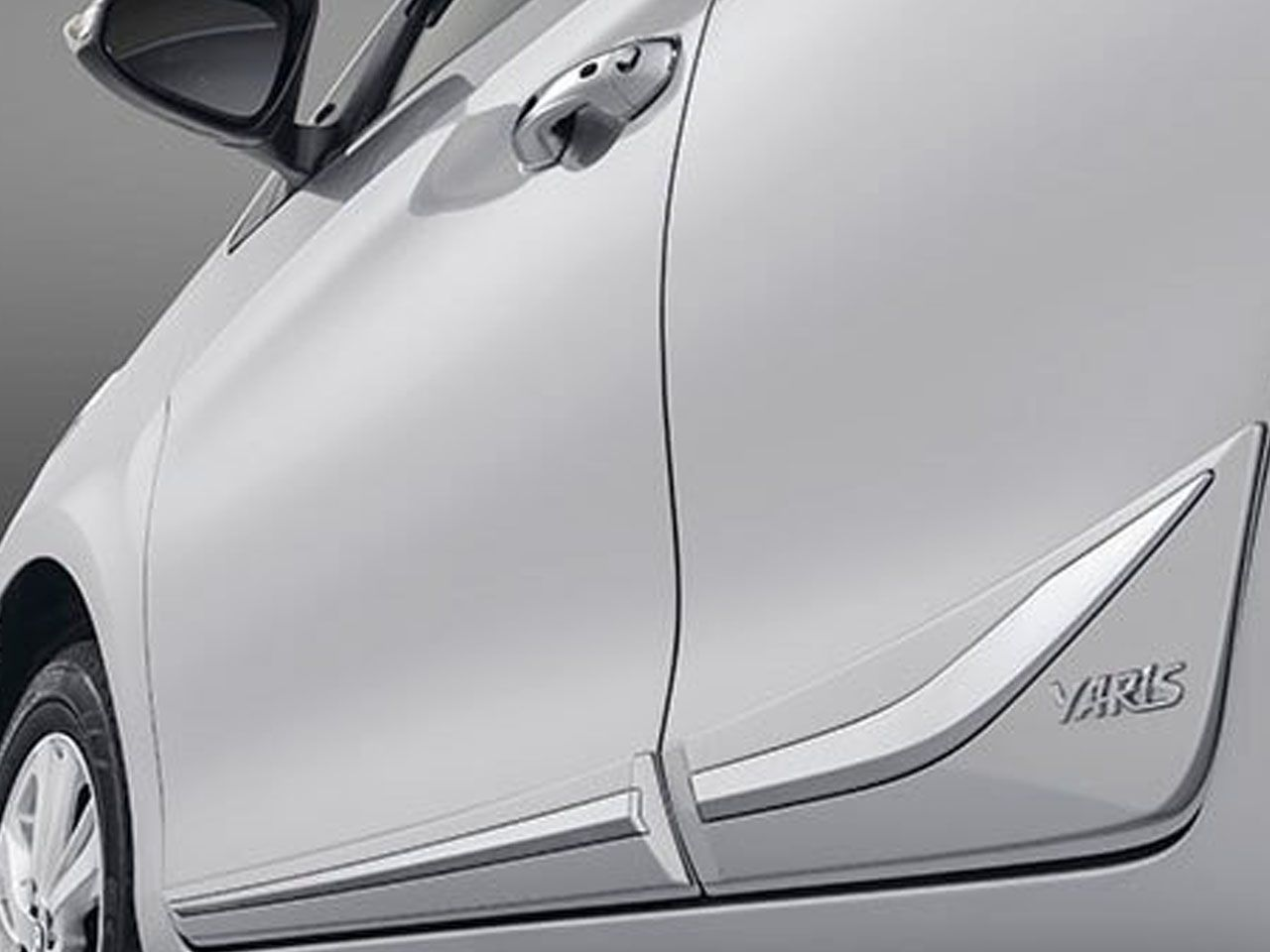 Friso Lateral Inferior Cromado Genuíno Yaris XL XS XLS  - Mirai Peças Toyota