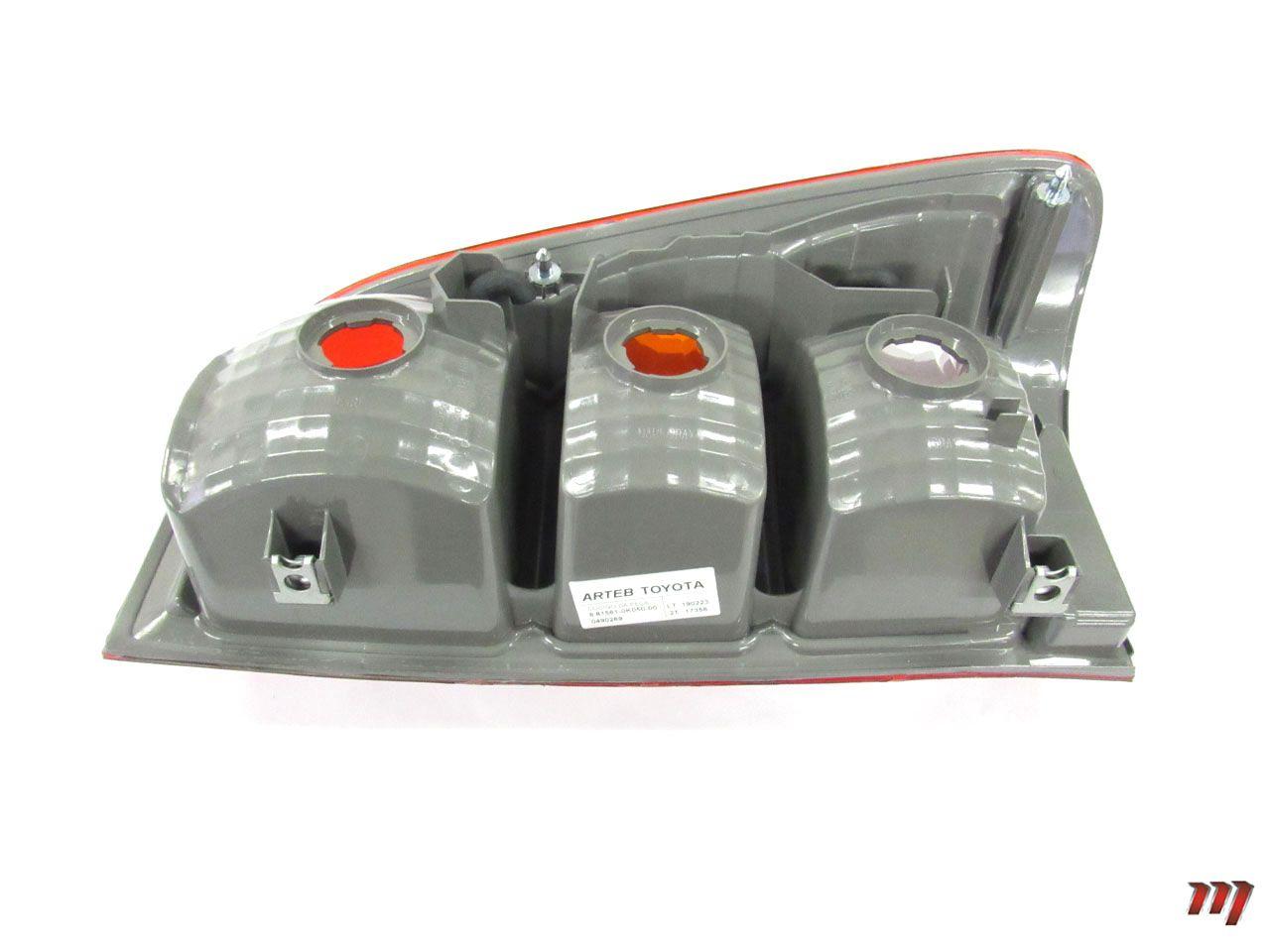 Lanterna Traseira Esquerda Hilux 2005 a 2012  - Mirai Peças Toyota
