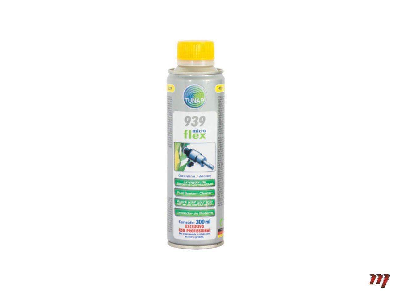 Limpeza do Sistema Gasolina/Etanol E5-E100 Tunap 939  - Mirai Peças Toyota