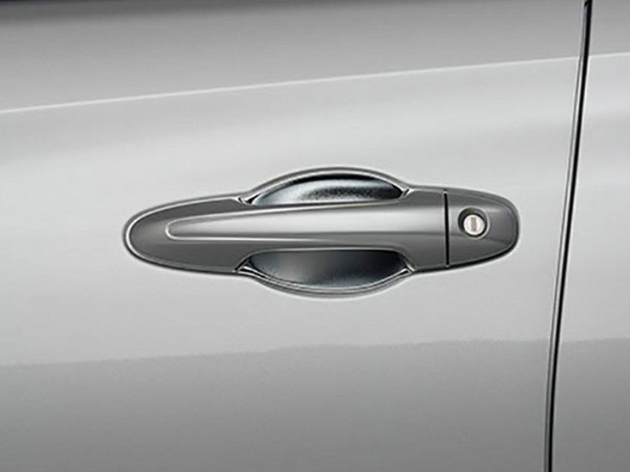 Moldura Cromada da Maçaneta (CUP) Yaris Sedã XL XS XLS  - Mirai Peças Toyota