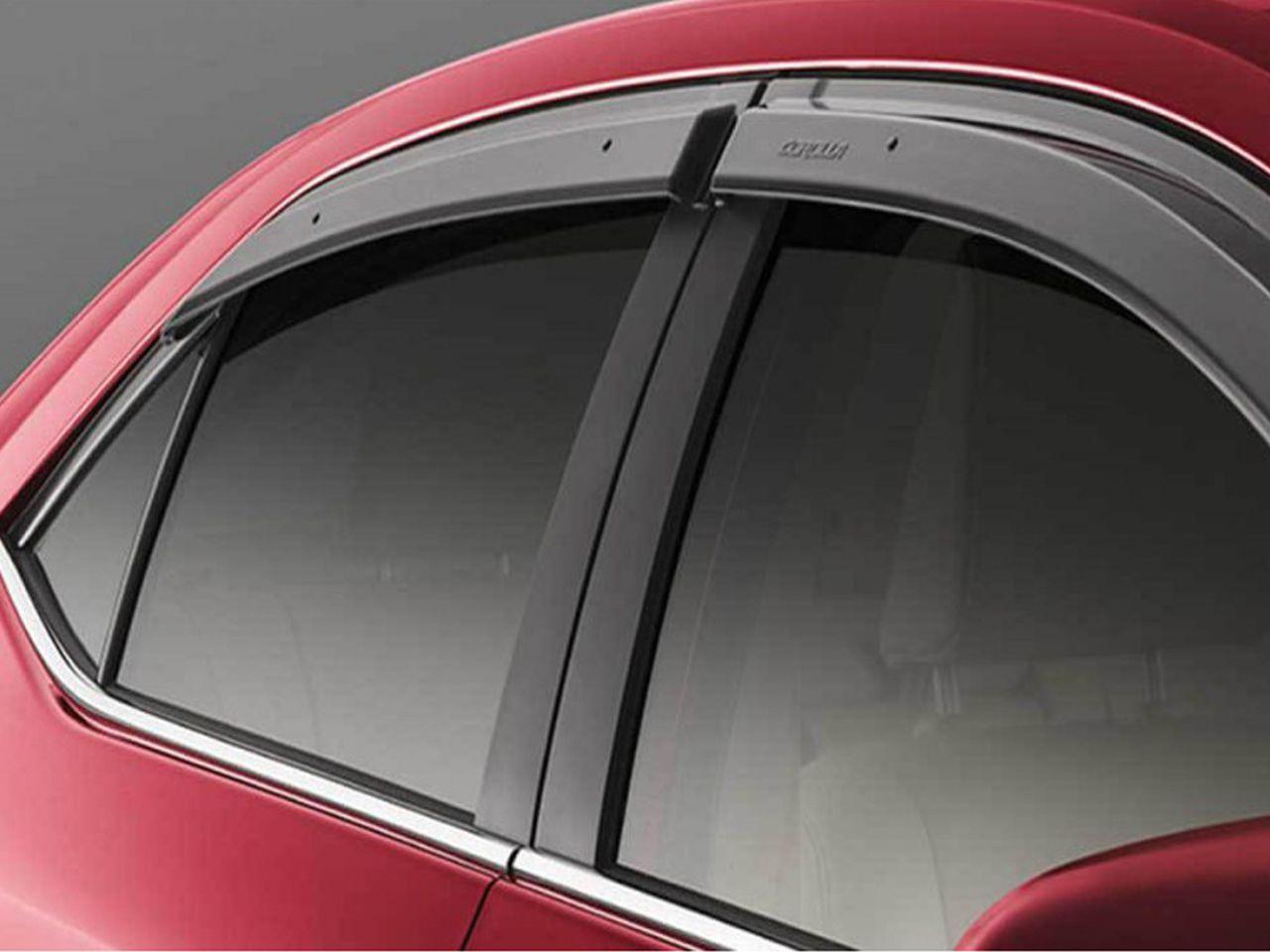 Moldura Cromada do Vidro Corolla GLi XEi XRS 2014 a 2019  - Mirai Peças Toyota