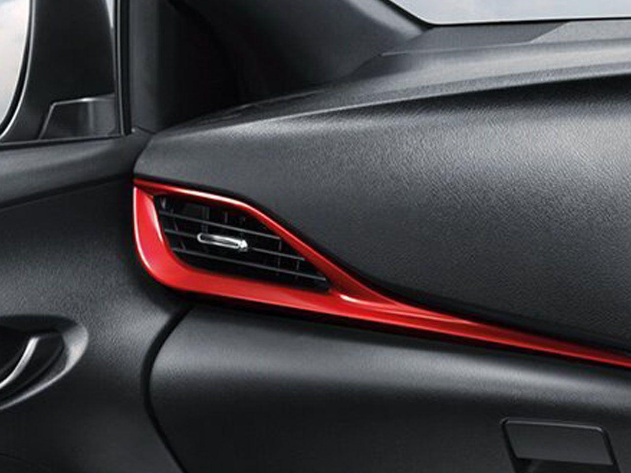 Moldura para Descanso de Braço Sport Yaris Hatch XS XLS  - Mirai Peças Toyota