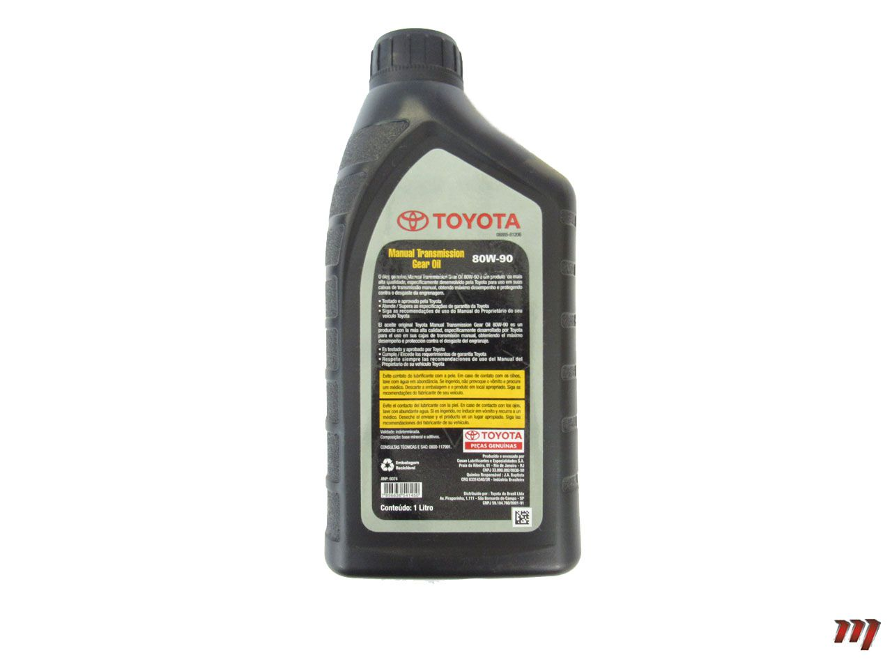Óleo de Transmissão Manual 80W-90  - Mirai Peças Toyota