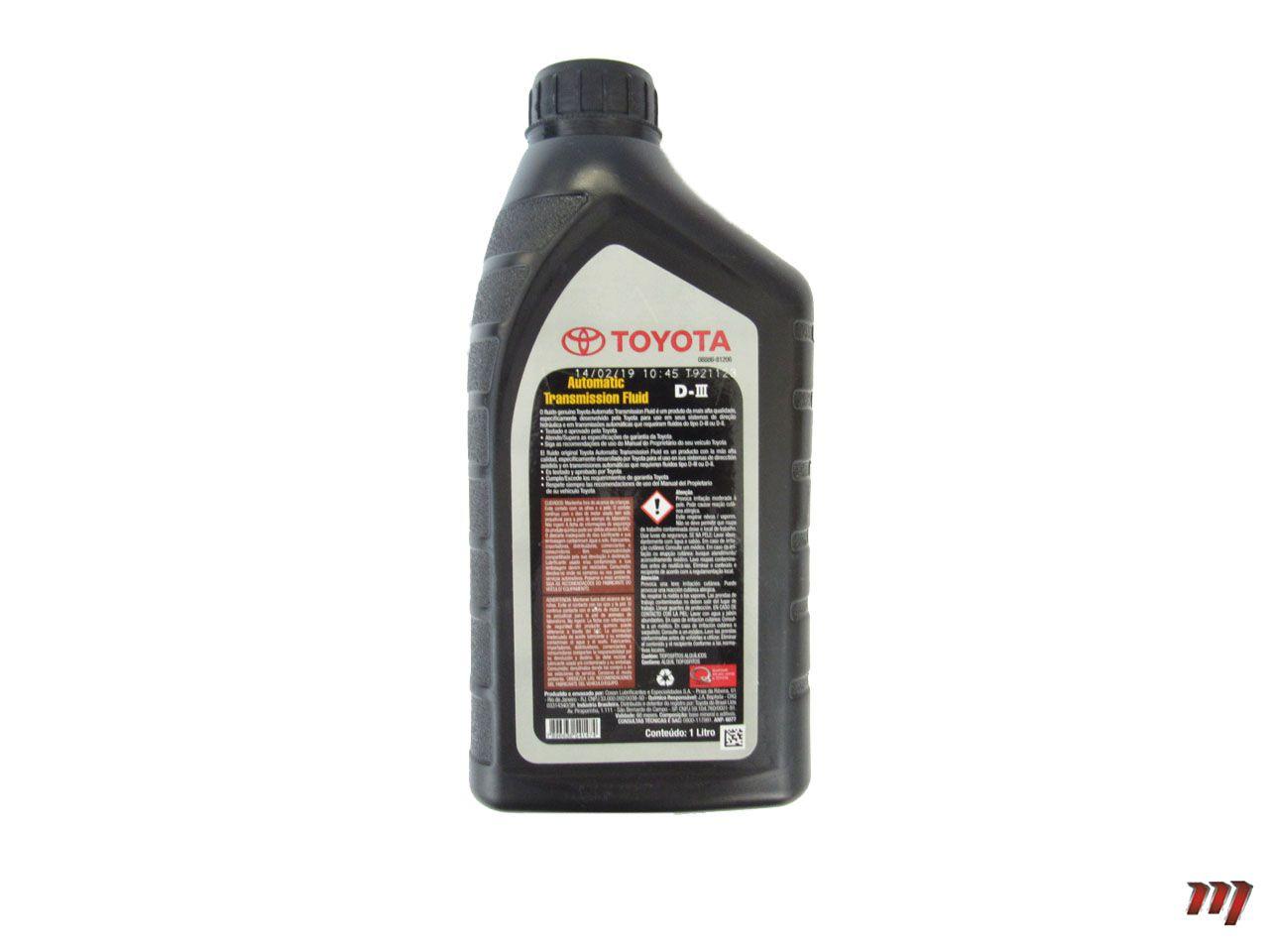 Óleo Fluído Transmissão Automática D-III  - Mirai Peças Toyota