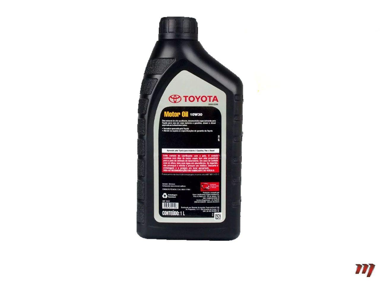 Óleo Motor 10W30  - Mirai Peças Toyota