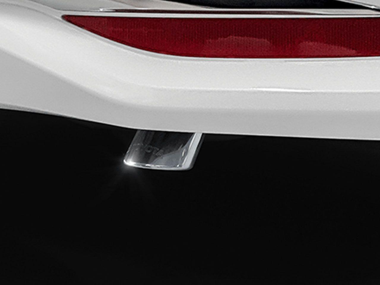 Ponteira de Escapamento Cromada New Corolla GLi XEi ALTIS  - Mirai Peças Toyota