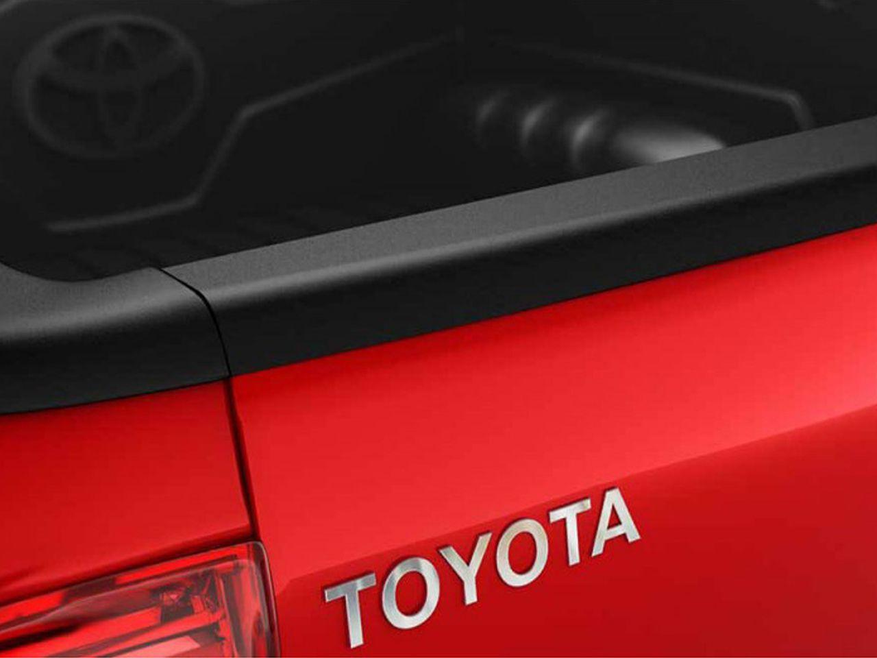 Protetor de Borda da Tampa da Caçamba Hilux STD SR SRV SRX  - Mirai Peças Toyota