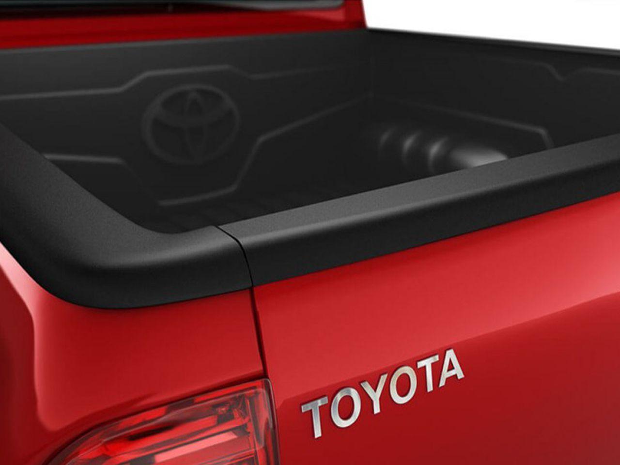 Protetor de Borda de Caçamba Hilux STD SR SRV SRX   - Mirai Peças Toyota
