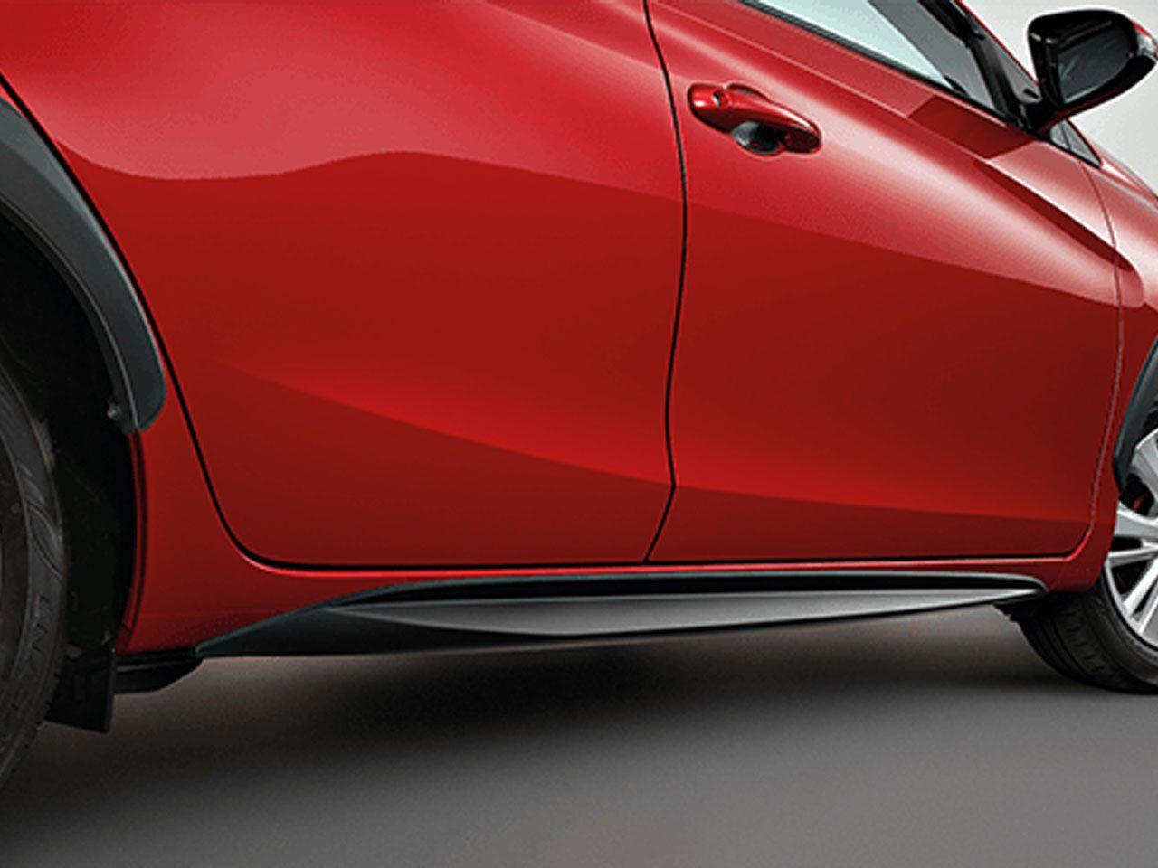 Saia Lateral Yaris Hatch XL XS XLS X-WAY  - Mirai Peças Toyota