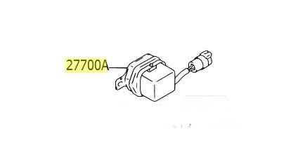 Sensor regulador gerador(voltagem)  - Mirai Peças Toyota