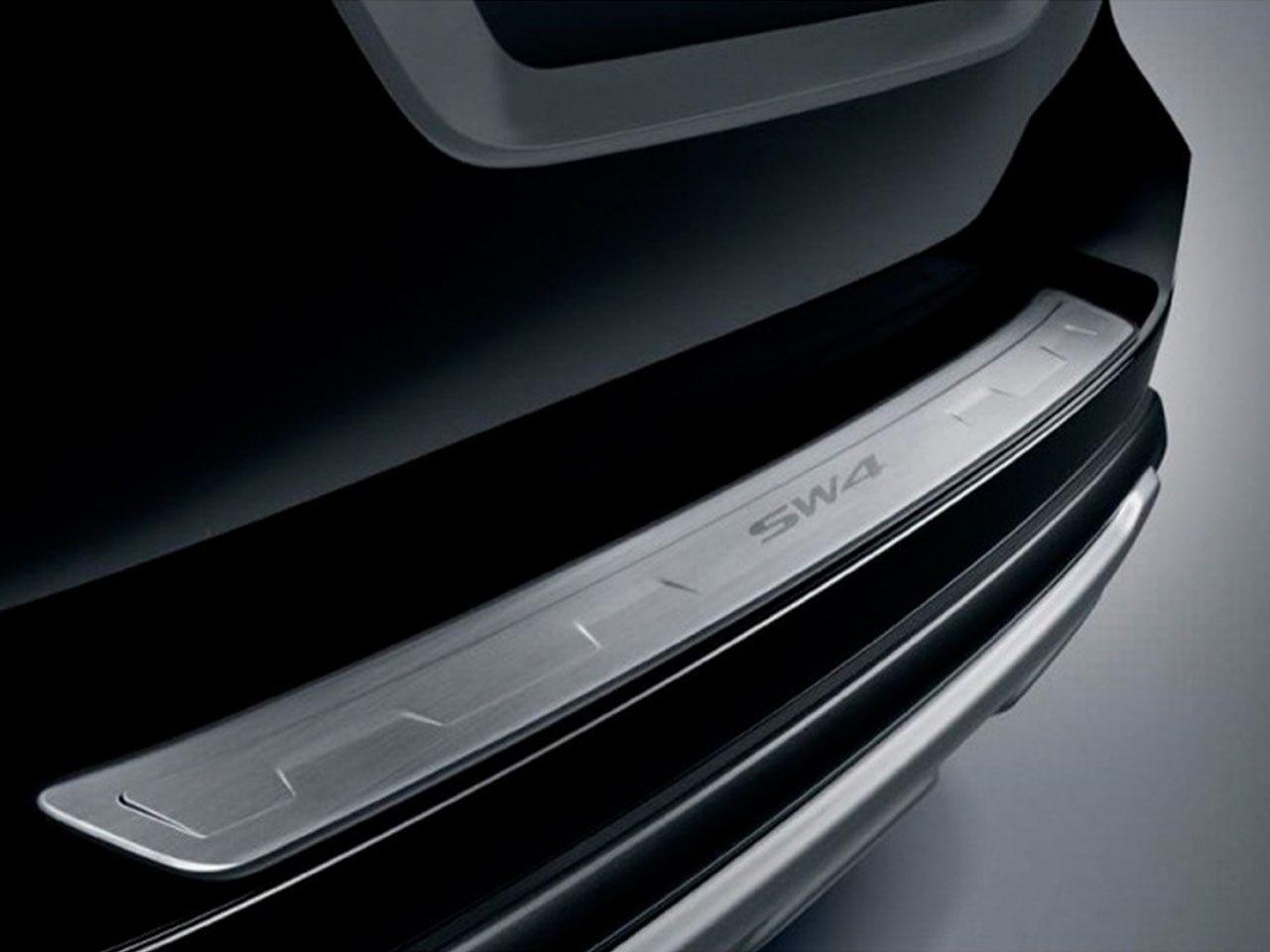 Soleira de Porta-Malas SW4 SR SRV SRX Diamond  - Mirai Peças Toyota