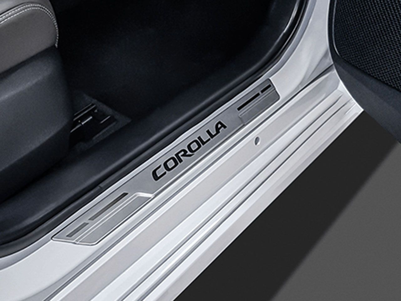 Soleira New Corolla GLi XEi ALTIS  - Mirai Peças Toyota