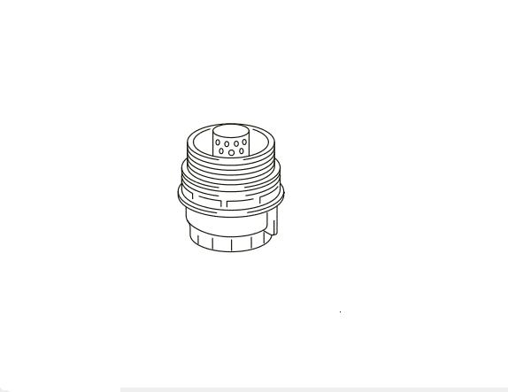 Tampa filtro de óleo RAV4  - Mirai Peças Toyota