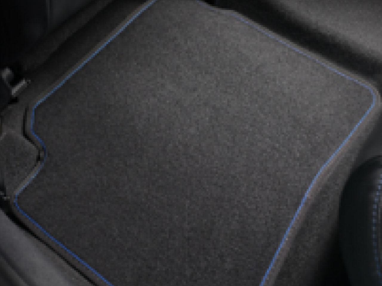 Tapete de Carpete Traseiro Etios Sedã Platinum (até 2018)  - Mirai Peças Toyota