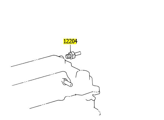 Válvula de ventilação Corolla e Fielder 2004 a 2008  - Mirai Peças Toyota