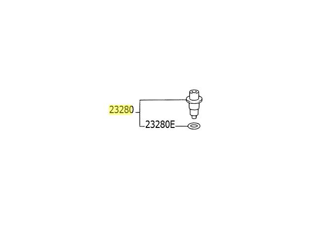 Válvula reguladora de pressão combustível  - Mirai Peças Toyota