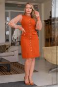 Blusa Em Tule de Malha - Moda Evangélica Kauly (3094 T)
