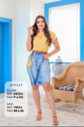 Blusa Lisa Manga Curta - Moda Evangélica Joyaly - (50134 E)