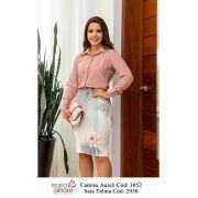 Camisa C/ Gola Bordada - Lançamento Maria Amore (3052)