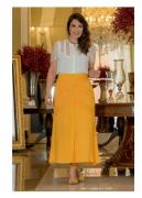 Cj Camisa+Saia Max - Moda Evangélica Kauly (2979-2980 T)