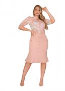 Cj Camisa + Saia - Moda Evangélica Kauly (3056/57-3058/59 E)