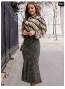 Saia Sereia Francesa - Lançamento Joyaly (30568 E)