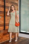 Vestido C Babado Na Saia - Moda Evangélica Joyay (30816 T)