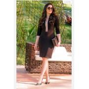 Vestido Em Alfaiataria  - Moda Evangélica Luciana Pais (92800 T)