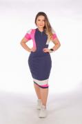 Vestido Em Malha - Moda Evangélica Joyaly - (70033 T)