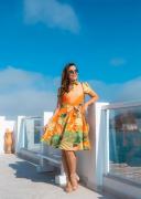 Vestido Gode - Moda Evangélica Joyaly (30478 E)