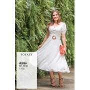 Vestido Godê Viscose - Moda Evangélica Joyaly (30730 T)