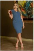 Vestido Jeans Bengaline - Moda Evangélica Kauly  (3001 T)