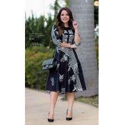 Vestido Lady Like Alfaiataria - Lançamento Kauly (2837 T)
