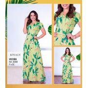Vestido Longo - Moda Evangélica Lançto Joyaly (30388 E)