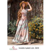 Vestido Longo Moda Evangelica Lançto Maria Amore (2829)