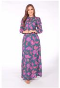 Vestido Longo Viscose - Moda Evangélica Joyaly (30988 T)