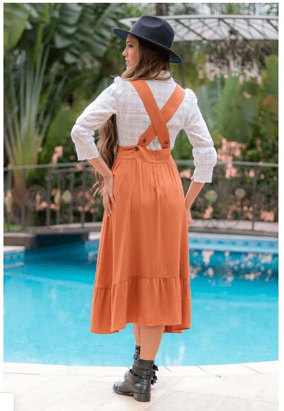 Camisa Em Algodão - Moda Evangélica Luciana Pais (92997 T)