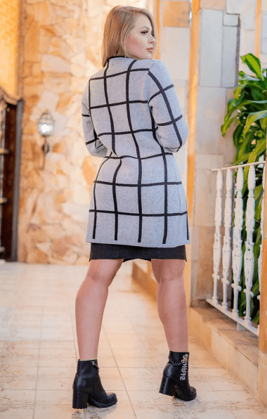 Casaco Em Tricot - Moda Evangélica Kauly (3165 E)