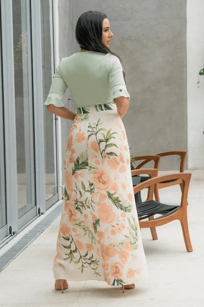 Cj Body+Saia Longa - Moda Evangélica Luciana Pais (92882-92883 T)