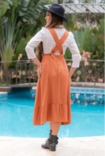 Cj Camisa+Salepete - Moda Evangélica Luciana Pais (92997-92998 T)