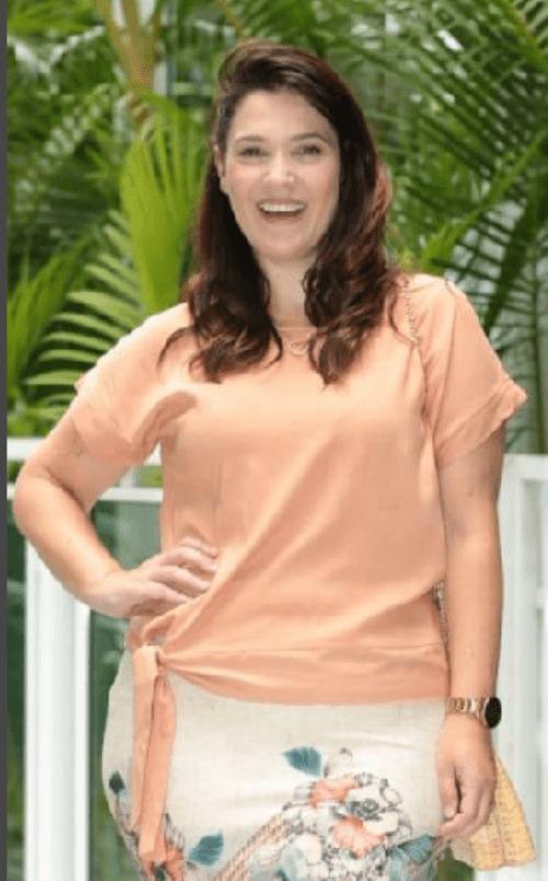 Conj Blusa laço + Saia secretária - Maria Amore (3009-2917 E)