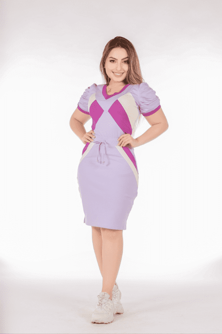 Conjunto Lilac Conforto - Moda Evangélica Joyaly (70023 E)