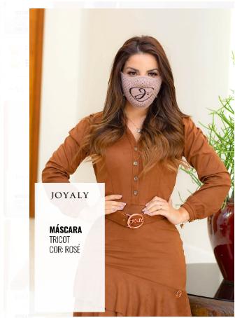 Máscara Tricot - Lançamento Joyaly (001M - T)