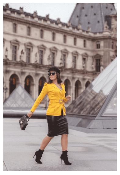 Saia Lapis Madame - Moda Evangélica Joyaly (30515 E)