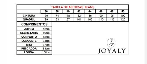 Saia Longa C Desfiados - Moda Evangélica Joyaly (11839 E)