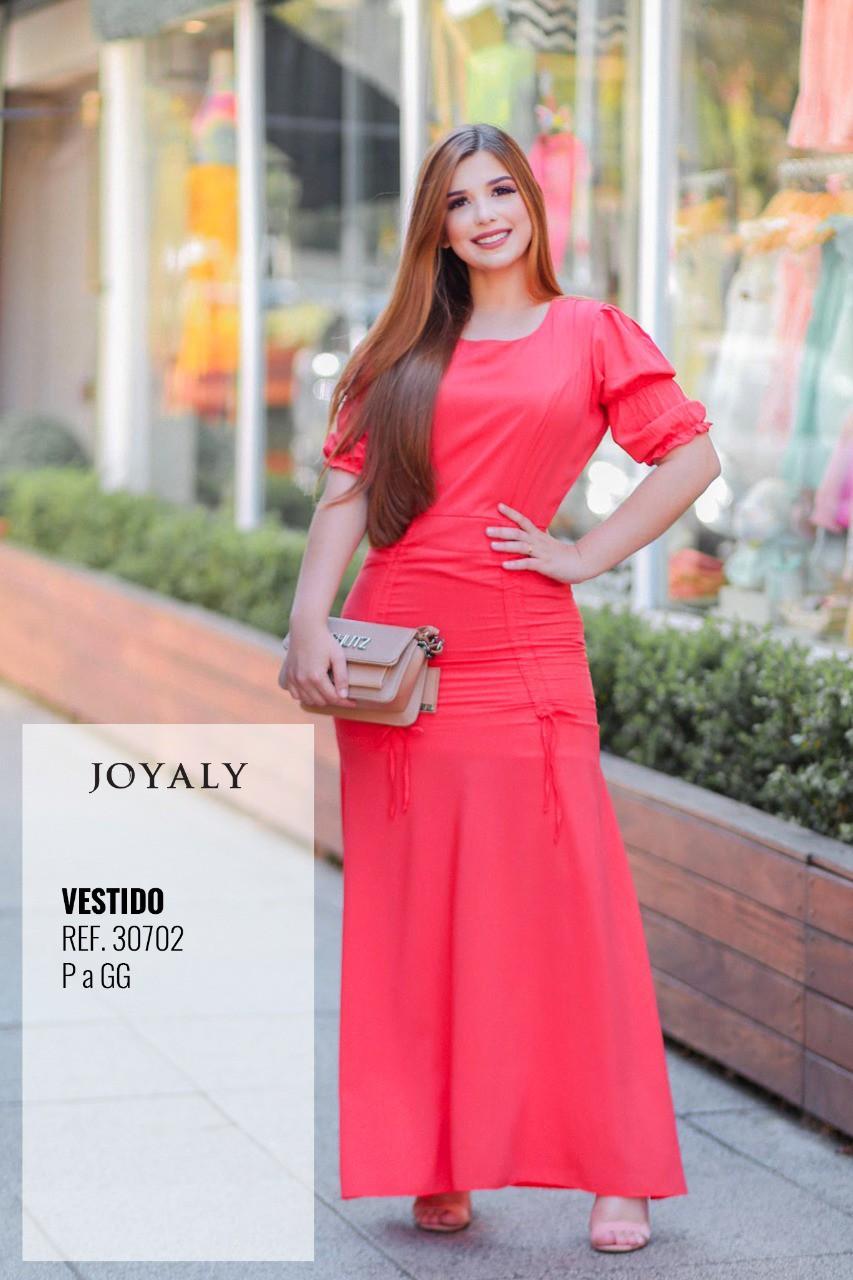 Tecido Longo C Forro - Moda Evangélica Joyaly (30702 T)