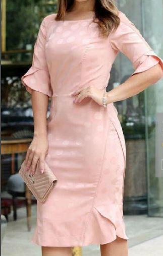 Vestido Alfaiataria Moda Evangélica Kauly (2702 - E)