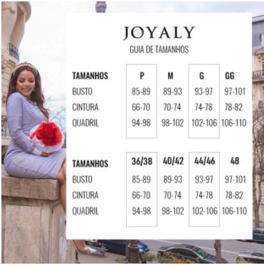 Vestido Em Viscose - Moda Evangélica  Joyaly (30868 E)