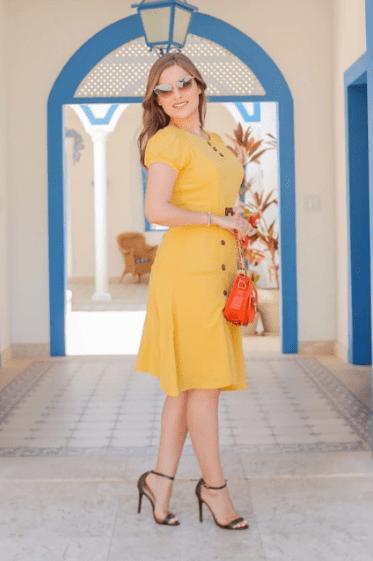 Vestido Em Viscose - Moda Evangélica Joyaly (30874 E)