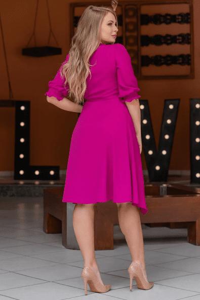 Vestido Lady Like Viscolinho - Moda Evangélica Kauly (3120 E)